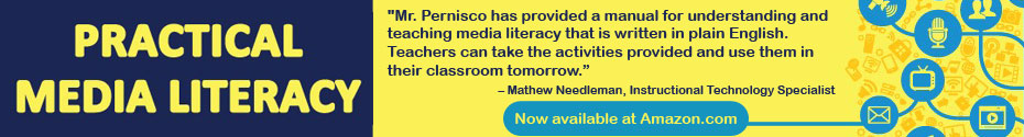 practical media literacy book ad